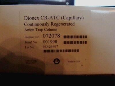 Dionex Cr-tc Continuously Regenerated Trap Columns 072078