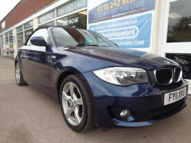 BMW 118 2.0 2011 i Sport Full S/H Low Miles 45k £4100 added extras P/X