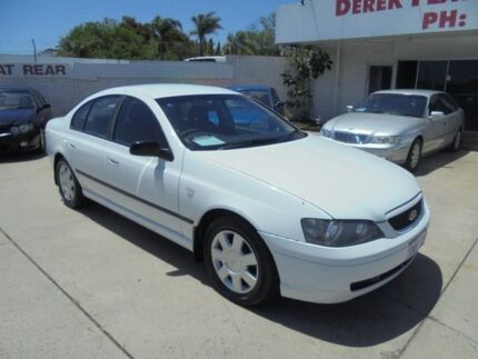2005 Ford Falcon BA Mk II XT White 4 Speed Sports Automatic Sedan Bayswater Bayswater Area Preview