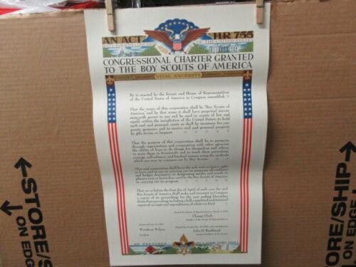 BSA Congressional Charter Poster      PTR