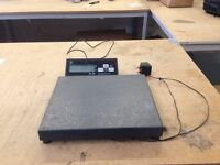 Bench of floor parcel scales Excell SK130 up to 60kg