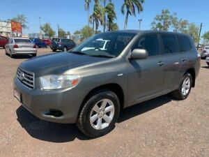 2009 Toyota Kluger KXR Grey 4 Speed Auto Active Select Wagon Holtze Litchfield Area Preview