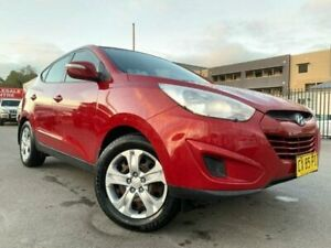 2011 Hyundai ix35 LM MY11 Active (FWD) Red 6 Speed Automatic Wagon Edgeworth Lake Macquarie Area Preview