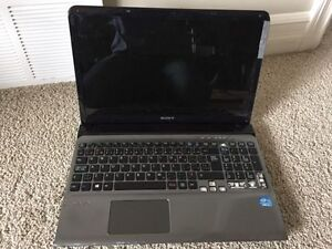 "Broken Sony Vaio 15.6"" for quick sale"
