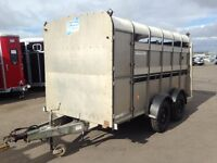 USED IFOR WILLIAMS TA510 12FT LIVESTOCK TRAILER 2001