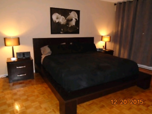 Complete King Size bedroom set