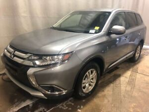 2016 Mitsubishi Outlander ES - Heated Seats, CD, Bluetooth + Med