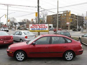 **2006 Hyunda Elantra Hatch back** Auto, 4 door, Cert & Etested
