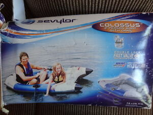 Sevylor Colossus 2 Person Boat w Oars-NEW-Holds 435 lbs