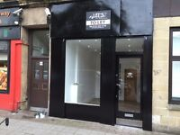 SHOP UNIT IN CENTRAL GLASGOW TO LET