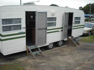 GLENVALE 24' CARAVAN FOR SALE TANDEM WITH ANNEX Woombye Maroochydore Area Preview