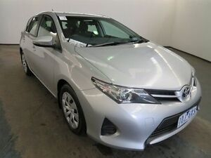2014 Toyota Corolla ZRE182R Ascent Silver Pearl 7 Speed CVT Auto Sequential Hatchback Albion Brimbank Area Preview