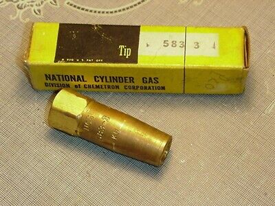 Ncg National Cylinder Gas Heating Tip 583-3 Ku New In Package