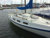 Tanzer 22 in great shape, sleeps 4, lots of extras. Trailer incl