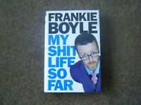 **REDUCED PRICE** Comedian FRANKIE BOYLE's 'My Sh*t Life So Far' Autobiography Hardback Book