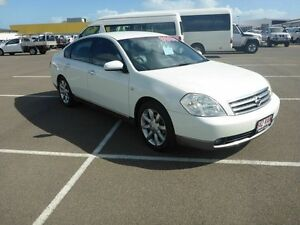 2005 Nissan Maxima J31 MY05 ST-L White 4 Speed Automatic Sedan Vincent Townsville City Preview
