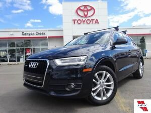 2015 Audi Q3 TECHNIK QUATTRO/1 OWNER/LEATHER/PANORAMA ROOF/2 SE