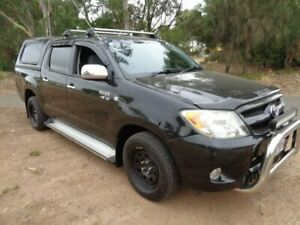 2007 Toyota Hilux Black Automatic Utility