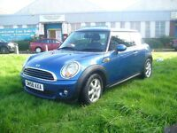 Mini Hatchback 1.4 One 3dr (blue) 2008