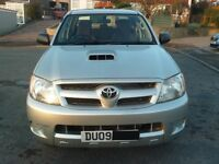 2009 2.5 Toyota Hilux D4D double cab pick up truck