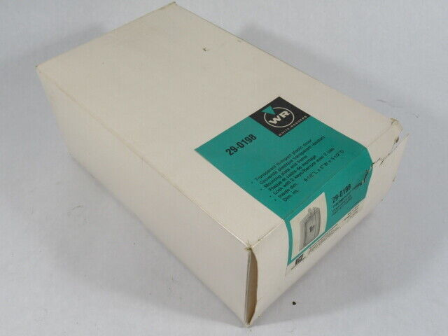 """White-Rodgers 29-0198 Thermostat Guard 8.5""""x5""""x3.5"""" Transparent Cover NEW"""