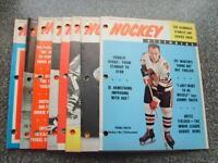 Lot of 18 Mid '60s Hockey Magazines Howe, Hall, Hull and Horton!