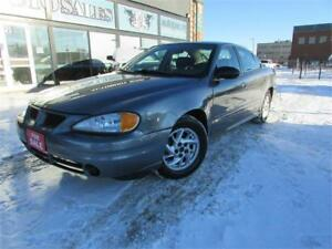 2005 PONTIAC GRAND AM SE 4 DOOR SEDAN