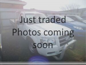 2008 Ford Ranger PJ 07 Upgrade XL (4x2) White 5 Speed Manual Cab Chassis Devonport Devonport Area Preview