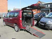 Fiat Doblo wheelchair accessible, disabled access, mobility scooter, WAV