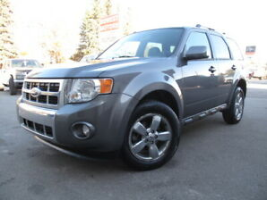 2009 Ford Escape Limited **BLU2TH, P.ASSIST, LOW KM, LEATHER**