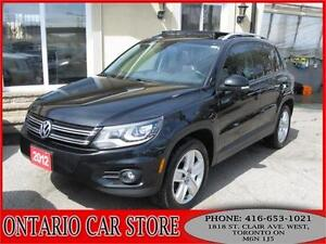 2012 Volkswagen Tiguan 2.0TSI 4-MOTION PANO.ROOF LEATHER