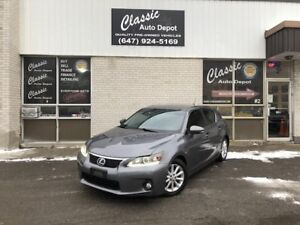 2012 LEXUS CT200H **LEATHER**HYBRID**CHEAPEST IN THE COUNTRY