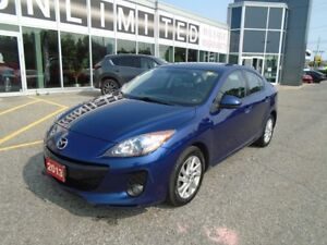 2013 Mazda Mazda3 LEATHER AND SUNROOF LOADED!**LOWEST $$** GSL