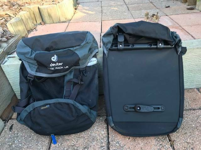 entire collection cost charm outlet store sale Deuter Rack Pack LR | Sports Bags | Gumtree Australia ...