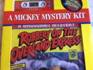 Mickey Mouse Collectible VINTAGE CASSETTE TAPE and BOOK **MICKEY