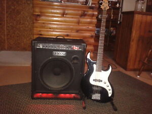 Bass amp/and bass