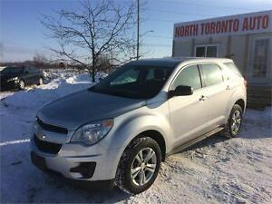 2010 CHEVROLET EQUINOX LS - LOW KM - 4 CYLINDER - POWER OPTIONS