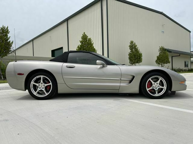 2002 PEWTER MATALIC Chevrolet Corvette Convertible    C5 Corvette Photo 6