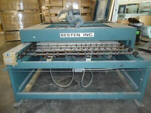 Besten Inc Glass Machine 60 HP