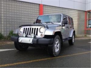 2014 Jeep Wrangler Unlimited Sahara 4x4
