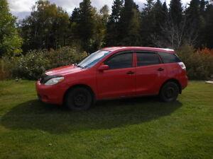 2006 Toyota Matrix Familiale