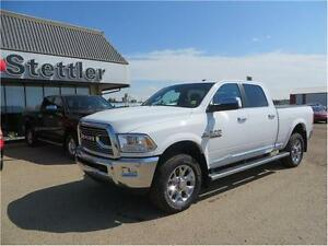 2016 RAM 3500 Longhorn 4X4 DIESEL!  HEATED LEATHER! SUNROOF!