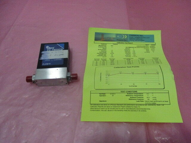 Aera FC-7800CD Mass Flow Controller, MFC, 5%B2H6/N2, 2 SLM, 421448