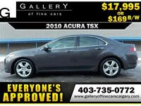 2010 Acura TSX $169 bi-weekly APPLY NOW DRIVE NOW