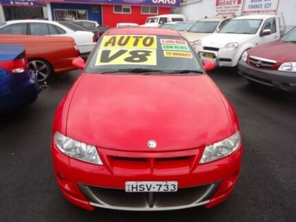 2001 Holden Special Vehicles Clubsport  Red 4 Speed Automatic Sedan Cardiff Lake Macquarie Area Preview
