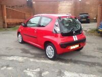 57reg CITROEN C1 998cc- 74K MILES, VERY CHEAP ROAD TAX, PERFECT FIRST CAR