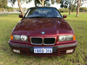 1996 BMW 318I E36 Limited Red 4 Speed Automatic Sedan