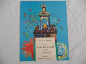 The North wind and the sun Children's story book