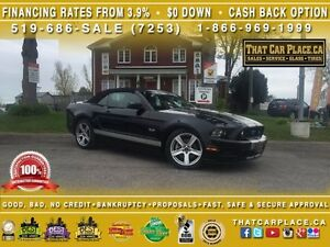 2014 Ford Mustang GT Convertible-Leather-Bluetooth-USB/AUX