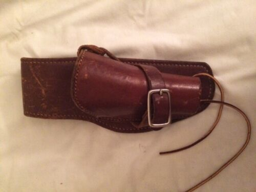 Laurence leather holster - vintage old west